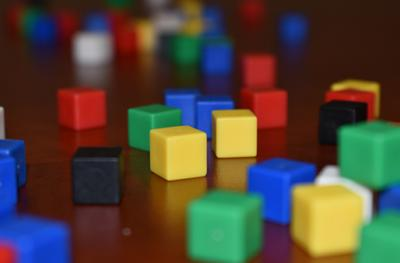 Photo of building blocks